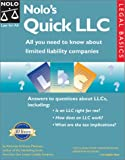 Nolo's Quick LLC: All You Need to Know About Limited Liability Companies (Legal Basic Series) (0873375734) by Anthony Mancuso