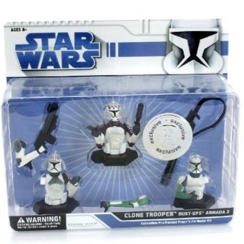 Star wars Clone trooper bust-ups Armada 2 set
