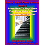 Rosa's Adult Piano Lessons Book 1: Learn How To Play Piano With Fun Color Chord Method: 5 Piano Songs & Hymns with Piano Sheet Music. Red Hot For Church ... - The Best Seller Internet Piano Course) ~ Rosablanca Suen