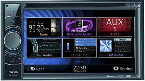 Clarion-Auto-Navigation-NX-501-EHO-incl-Software-fr-43-Lnder