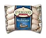 Evergood Fine Foods Swiss Bockwurst Weisswurst Sausage 13 Oz Package - Pack of 2