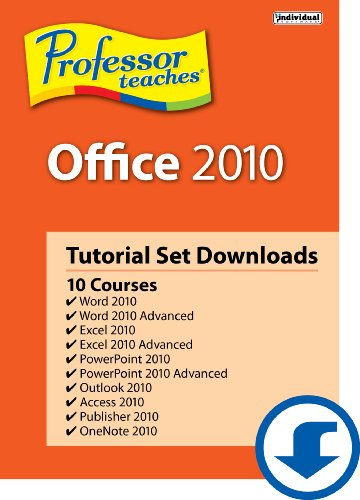 Professor Teaches Office 2010 Tutorial Set [Download]