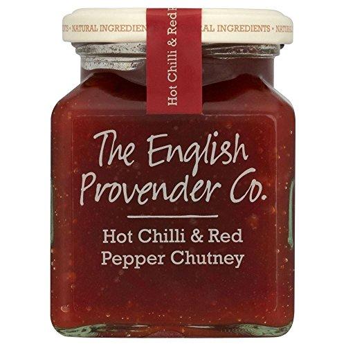 Englisch Futter Co.Hot Chilli Und Paprika -Chutney (310G)