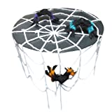 【ハロウィン飾り】巨大クモ!でもかわいスパイダーハウス蜘蛛の巣セットハロウィン・クリスマス・パーティーの飾りに