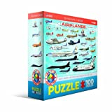 Airplanes 100 Piece Jigsaw Puzzle