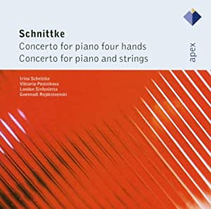 Schnittke: Concerto For Piano Four Hands & Concerto For Piano And Strings