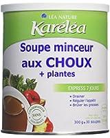 Léa Ligne Santé Soupe Minceur Choux + 5 Plantes Pot de 300 g Lot de 2