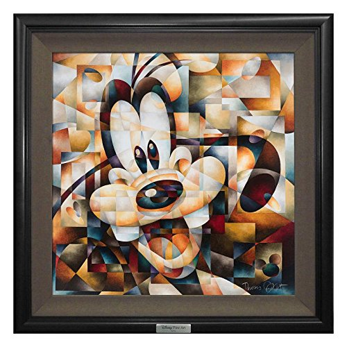 """Don't Be A Square"" Framed Limited Edition Canvas By Tom Matousek From The Disney Silver Series; With Coa"