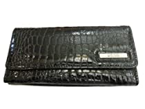 Kenneth Cole Reaction (AP) 102522-856 Trifold Elongated Wallet (Black)