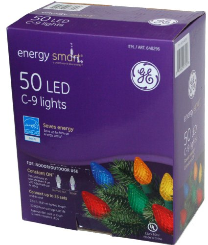Energy Smart Ge 50 Led C-9 Lights