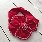 Banda ancha, color rojo, diseño de corazón, color rojo