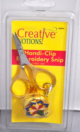 Sewing Embroidery Snips And Handi Clip Anshc front-223267
