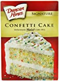 Duncan Hines Confetti Cake Mix 517 g (Pack of 3)
