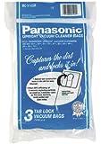 Panasonic M-CV145MS Type U-6 Tab Lock Micro Paper Bag, 3 Pack