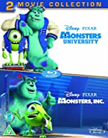Monsters Inc. / Monsters University [Blu-ray] [2001] [Region Free]