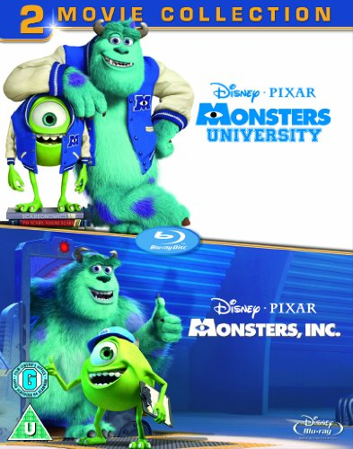 Monsters University/Monsters Inc [Blu-ray] [Import]