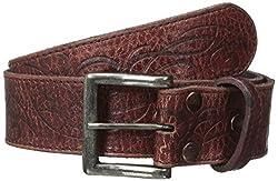 BedStu Men's Fresh Belt, Ox Blood Lux, 32