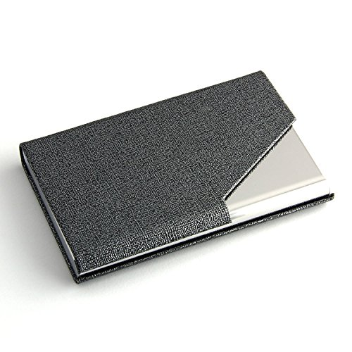 sayeec-business-name-card-holder-luxury-pu-leather-stainless-steel-multi-card-case-business-name-car
