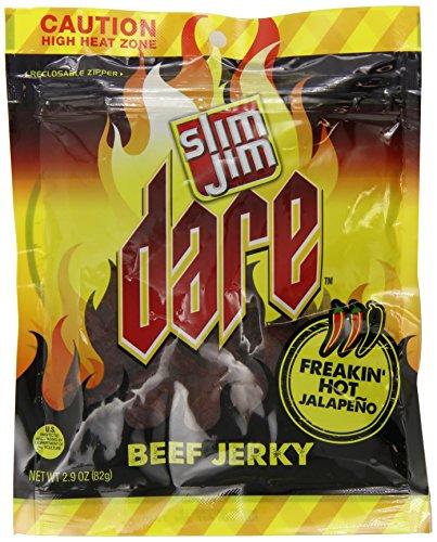 Slim Jim Dare Jerky, Jalapeno, 2.9-Ounce