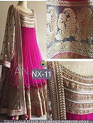 Jakkas Fab Women's Gown or dress material