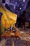 Van Gogh Cafe Terrace at Night Painti...
