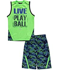 RBX Active Boy's 2 Piece Printed Tank…