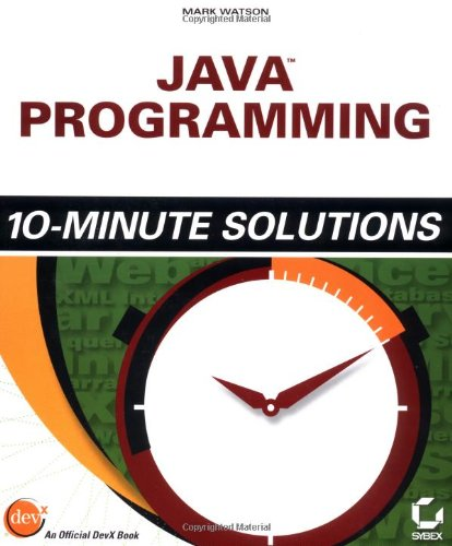 Java Programming 10-Minute Solutions