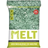 Snow Joe MELT25EB Melt Premium Enviro Blend Ice Melter with CMA Resealable Bag, 25-Pound
