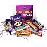 Cadbury Funsize Treat Box - Buttons, Freddo Bars, Curly Wurly, Chomp, Fudge & Crunchie - By Moreton Gifts