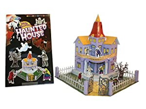 Build Your Own 3D Model Haunted House Toys Games