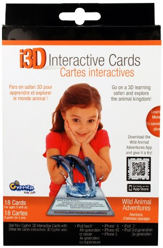 i3D Interactive Cards- Animals - 1