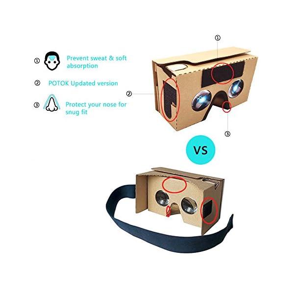 POTOK-2016-Dernire-Google-Cardboard-Kit-V2-Grande-Lentille-3D-Virtuelle-Ralit-Cardboard-Lunettes-en-Carton-avec-T-Casque-Compatible-avec-35-55-pouces-Ecran-Android-et-Apple-Smartphone
