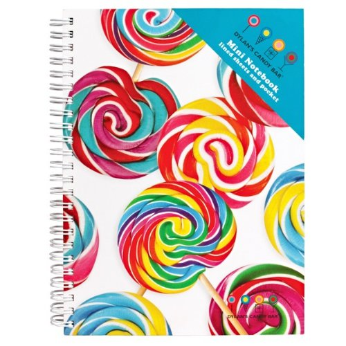 Dylan's Candy Bar Mini Notebook - Whirly Pops®