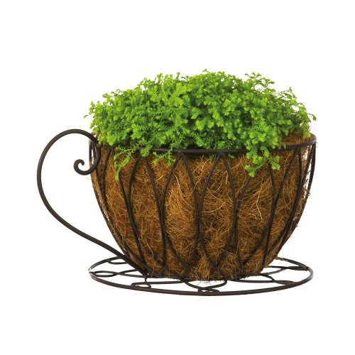 Coffee Cup Lines Planter