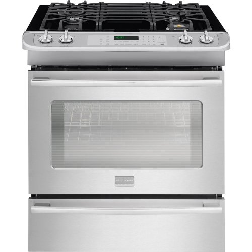 Frigidaire-FPGS3085PF-Professional-30-Stainless-Steel-Gas-Slide-In-Sealed-Burner-Range-Convection