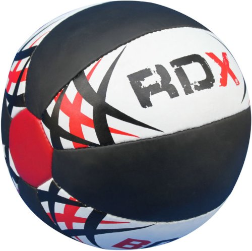 Authentic RDX Heavy Duty Leather Medicine ball 5kg,8kg,10kg, 12kg Exercise Fitness Gym