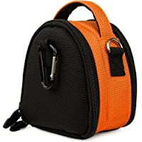 SumacLife Mini Laurel Edition Nylon Camera Bag with Carrying Handle and Adjustable Shoulder Strap for Canon Compact Cameras ELPH 310 HS (IXUS 230 HS) 100 HS (IXUS 115 HS) 300 HS (IXUS 220 HS) Canon PowerShot SD1200 IS (Digital IXUS 95 IS) SD780 IS (Digital IXUS 100 IS)