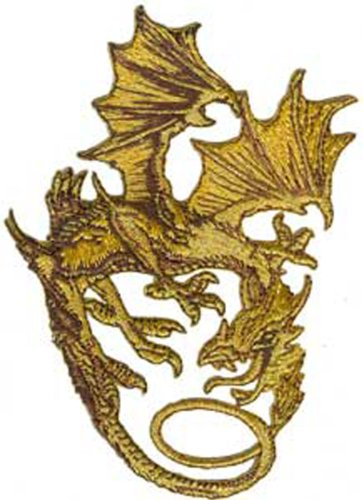 Application Bronze Dragon Patch