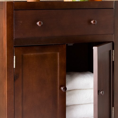 Southern Enterprises Reserve Deluxe Storage Cabinet
