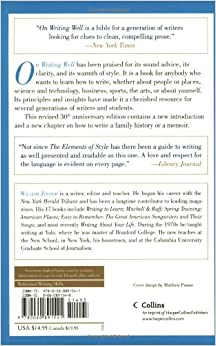 on writing well 30th anniversary edition download Npr coverage of on writing well: the classic guide to writing nonfiction by william knowlton zinsser news, author interviews, critics' picks and more.