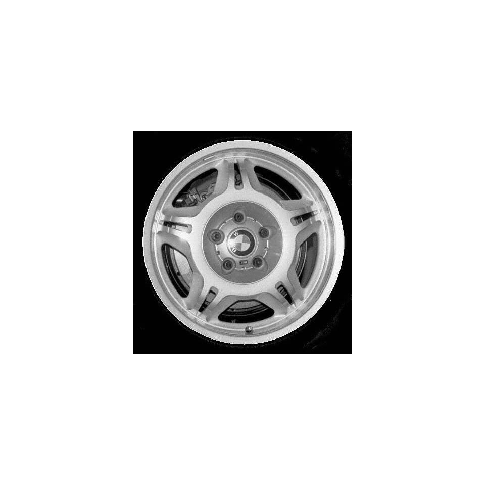 98 02 BMW Z3 ALLOY WHEEL RIM 17 INCH, Diameter 17, Width 7.5 (10 SPOKE), 41mm offset Motorsport on face, SILVER, 1 Piece Only, Remanufactured (1998 98 1999 99 2000 00 2001 01 2002 02) ALY59257U10