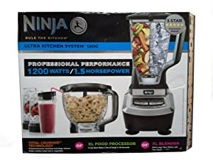 Ninja Ultra Kitchen System 1200 Kitchen Dining Huge Discount Countertop Blenders