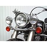Lightbar for additional Headlights for Yamaha XV 1600 Wild Star