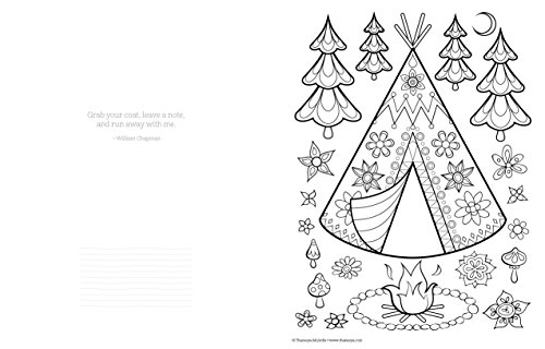 happy campers coloring book coloring is fun media books