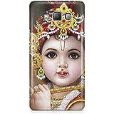 Cover Affair Bal Krishna 3D Printed Back Cover Case For Samsung Galaxy E5