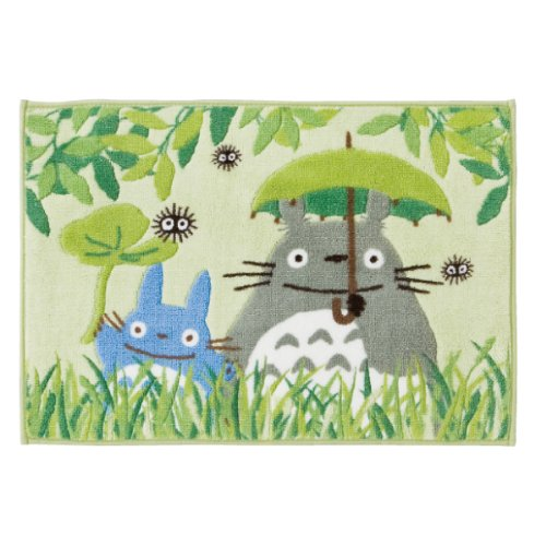 (Green My Neighbor Totoro bath mat