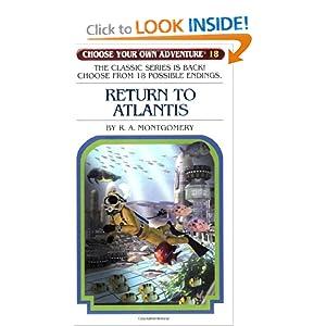 Return to Atlantis (Choose Your Own Adventure #18) [Paperback]