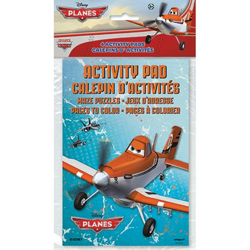 Disney Planes Activity Books - Party Favors - 4 Per Pack - 1