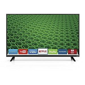 VIZIO D43-D2 43-Inch 1080p 120Hz Smart LED HDTV (Certified Refurbished)