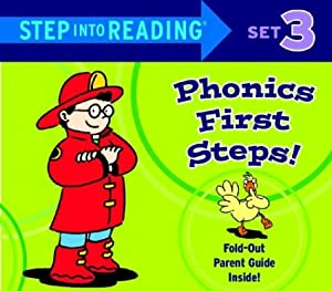 Step into Reading Phonics First Steps, Set 3 (Phonics Boxed Sets) by Jennifer Liberts Weinberg and Ron Lieser